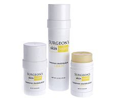 Surgeon's Skin Secret 3pc Travel Pack Lemon Moisturizer