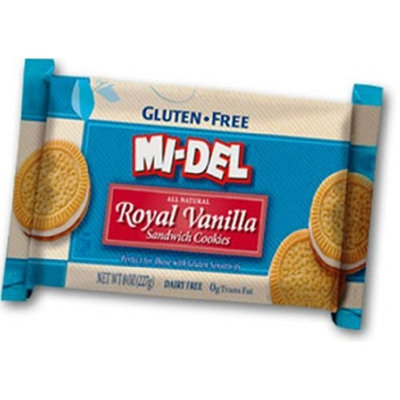 Mi-del Mi Del Sandwich Cookies, Vanilla, 8 Ounce
