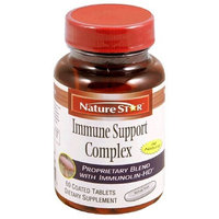 NatureStar Immune Support Complex Dietary Supplement Tablets, 60-Count Bottles (Pack of 2)