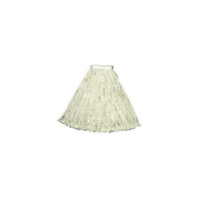 Rubbermaid Commercial 640-V118-00-WH #24 1 Inch Value-Pro Cottonmop Head White