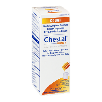 Boiron Chestal Honey Homeopathic Cough Syrup