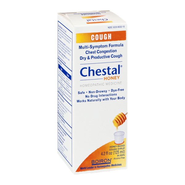 Boiron Chestal Honey Homeopathic Cough Syrup Reviews 2019