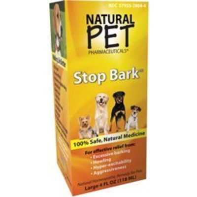 KingBio Natural Pet Tomlyn Products Natural Pet Pharmaceuticals Stop Bark 4 oz