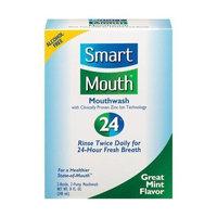 Smart Mouth Mouthwash 24 8oz Mint Flavor