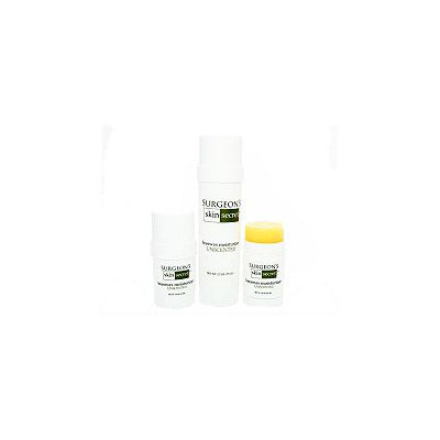 Surgeon's Skin Secret Surgeon Skin Secret's 3-piece Unscented Travel Pack Skin Moisturizer