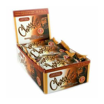 HealthSmart Chocolite Bar Chocolate Crispy Caramel Case of 16 2/.84 oz