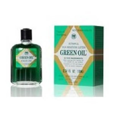 HWJ Green Oil Topical Analgesic - External Relieving Lotion - 10 ml Bottle