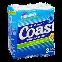 Coast Soap Bars - 3 CT