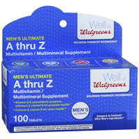 Walgreens Multi Vitamin Ultimate Men's Tablets