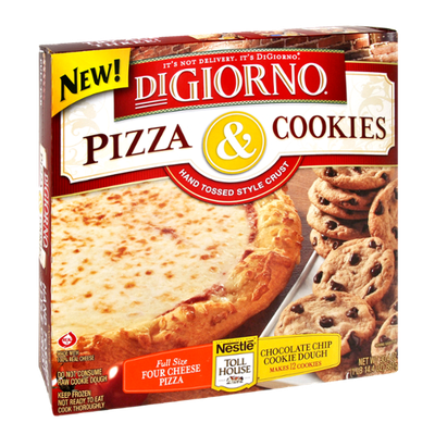 Digiorno Hand Tossed Style Crust Pizza & Cookies