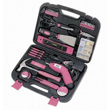 Apollo 135-pc. Tool Kit - Pink