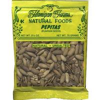 Flanigan Farms Natural Foods Pepitas (Pumpkin Seeds) Raw, Unsalted 2.5oz (6 Pack)