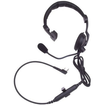 KENWOOD KHS-7A Headset, Over the Head, On Ear, Black