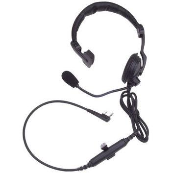 KENWOOD KHS-7A Headset, Over the Head, On Ear, Black