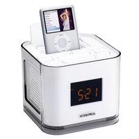Audiovox iPod Clock Radio - White (CR8030iE5)