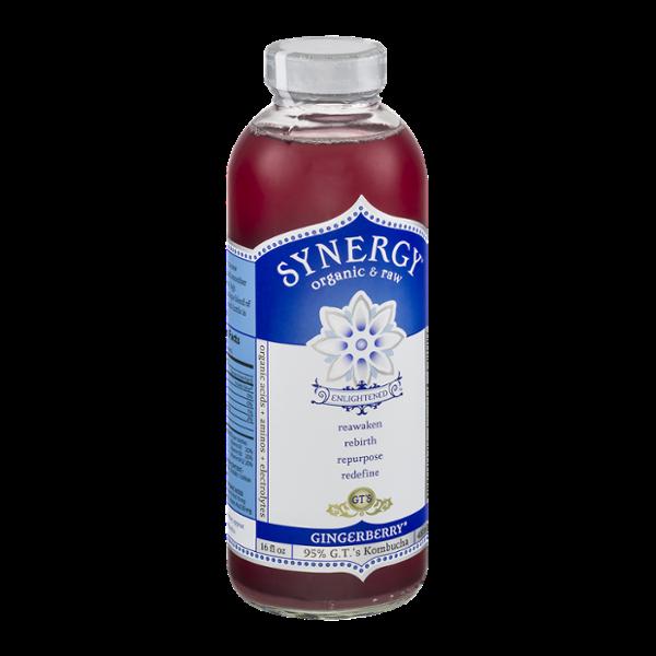GT's Raw Organic Kombucha Gingerberry
