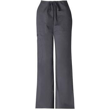Simply Basic Grey Stretch Drawstring Pant
