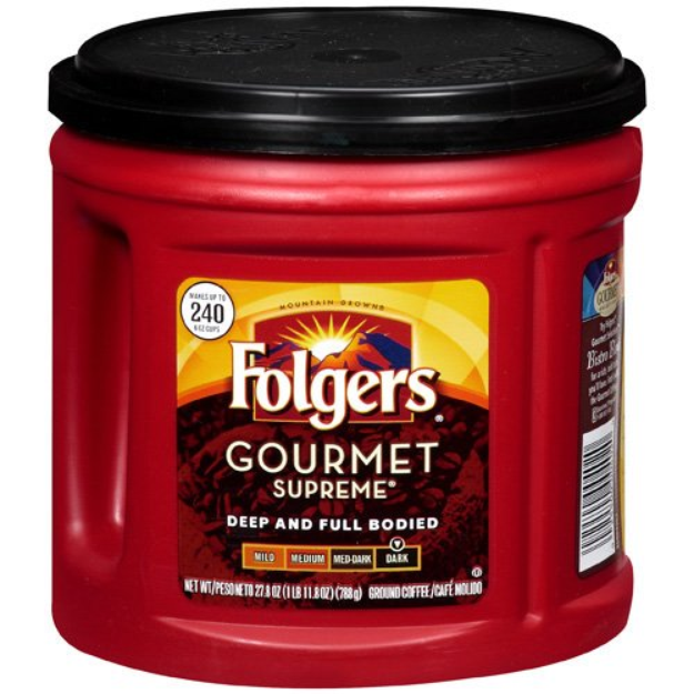 Folgers Ground Coffee Gormet Supreme