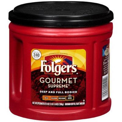 Folgers Ground Coffee Gormet Supreme