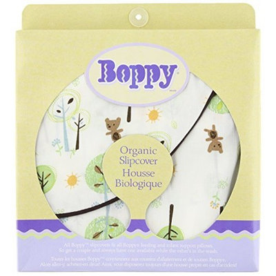 Boppy Organic Cotton Slipcover, Forest (Discontinued by Manufacturer)