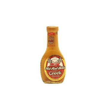 Hot Rod Bob's Gourmet Greek Gluten Free Salad Dressing 3 Pack