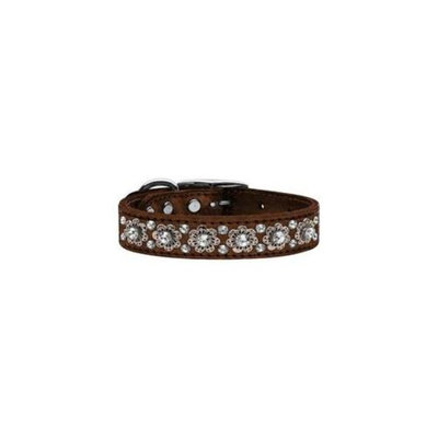 Mirage Pet Products 83-30 20Bz Metallic Fancy Jewel Leather Bronze 20