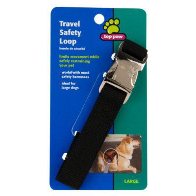 Top PawA Seat Belt Travel Safety Loop