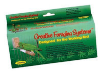 Caitec Bird Toys Caitec- Bird Toys 020-00660 Caitec Foraging System Small Refill 15 Day Supply