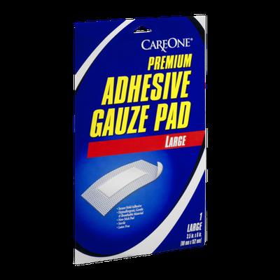 Careone Premium Adhesive Gauze Pad Large