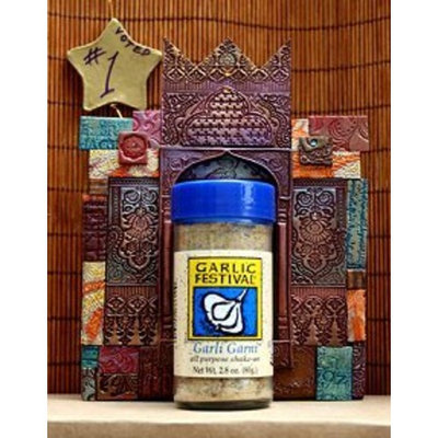 Garlic Festival Garli Garni - All Purpose Garlic Seasoning 2.8 Ounce