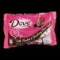 Dove Milk Chocolate & Strawberry Creme Swirl Heart Promises