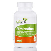 Green Herb - Elimination Herbal Parasite Cleanser - 90 Vegetarian Capsules