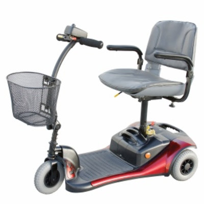 Shoprider Dasher 3 Wheel Scooter, Red, 1 ea