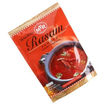MTR Madras Rasam Powder (Curry Powder), 3.52-Ounce Packages (Pack of 6)