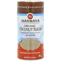 Madhava Organic Coconut Sugar, 5-Ounce (Pack of 6)