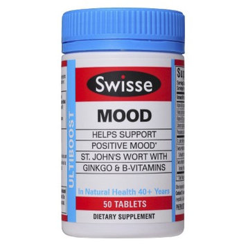 Swisse Ulitiboost Mood with St. John's Wort Tablets