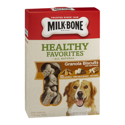 Milk Bone Healthy Favorites Granola Biscuits With Real Chicken