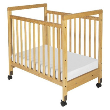 Clearview Wood Crib -Natural by Foundations
