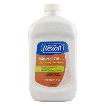 Rexall Mineral Oil Lubricant Laxative, 16 oz