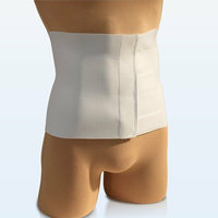 NYOrtho Tapered Abdominal Binder in White