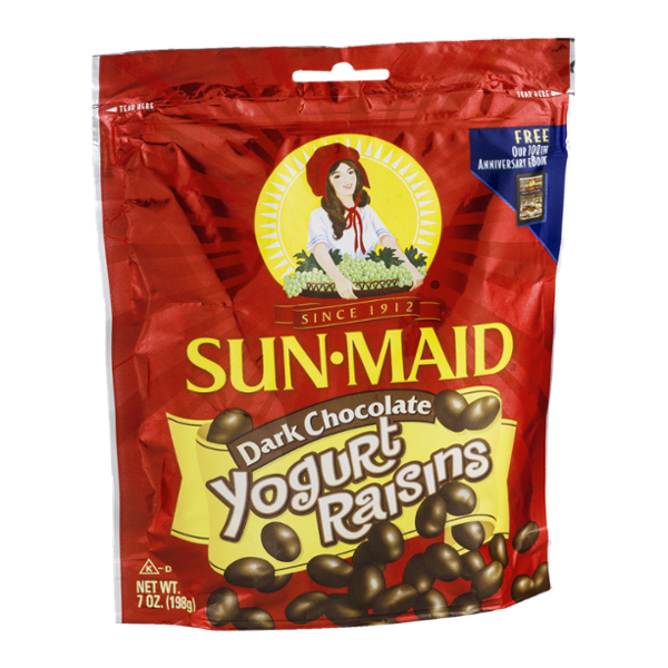Sun Maid Yogurt Raisins Dark Chocolate