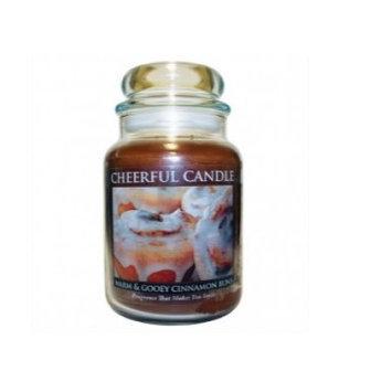 A Cheerful Candle CC84 WARM & GOOEY CINNAMON BUNS 24OZ - Pack of 2