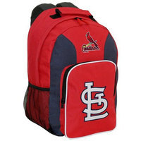Concept One MLB St Louis Cardinals Team Color Backpack - School Supplies