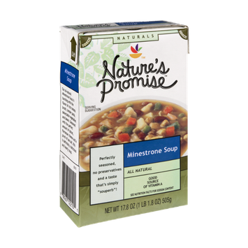Nature's Promise Naturals Minestrone Soup