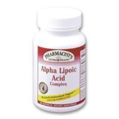 Alpha Lipoic Acid Complex 45 Capsules by Pharmacist's Ultimate Health