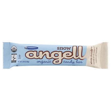 Angell Candy Bar, Organic, White Chocolate, Snow - 1.41 oz