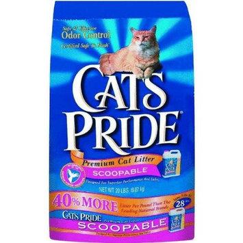 Oil Dri CAT'S PRIDE 317032 Scoop Cat Litter, 20-Pound