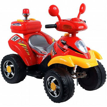 Lil' Rider Police Cruiser Battery Operated  Red and Yellow Ages 3-7