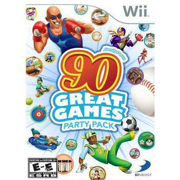 D3 Publisher Family Party: 90 Great Games Party Pack (Nintendo Wii)