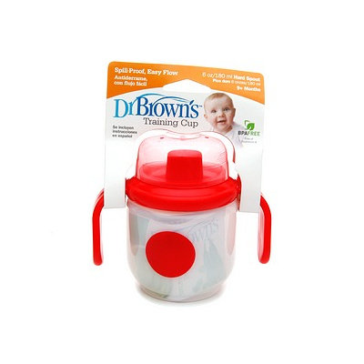 Dr. Brown's Toddler Training Cup 6 oz with Hard Spout